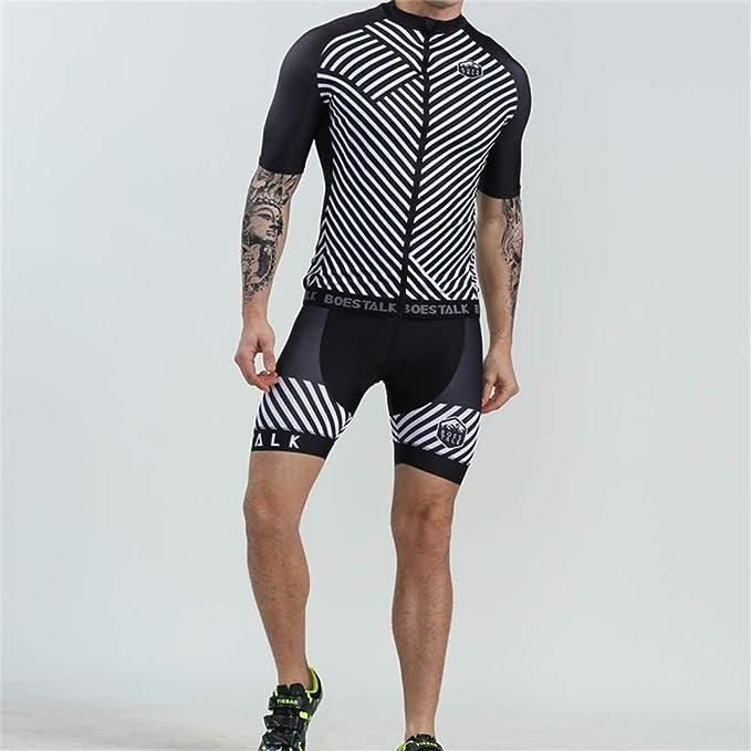 Amazon.com: LightInTheBox BOESTALK - Maillot de ciclismo de ...