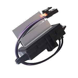 CENTAURUS Upgraded Design Heating & Air Conditioning Blower Motor Resistor Module # 4P1516 4P1595 MT1805 RU-631 JA1639 BMR34 Replacement for Chevy Silverado/Tahoe/Suburban/Sierra/Yukon