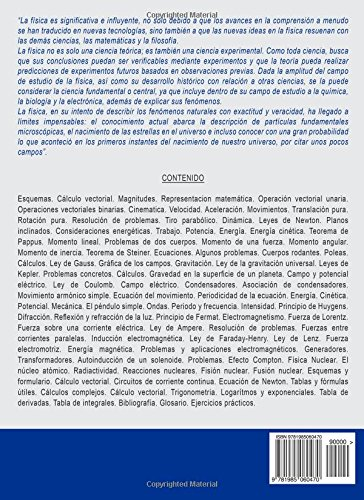 Manual de Física elemental: Conceptos, fundamentos y ejercicios (Spanish Edition): Ing. Miguel DAddario: 9781985060470: Amazon.com: Books