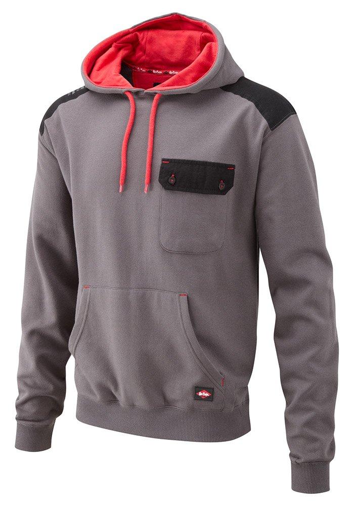 Amazon.com: Lee Cooper Mens Panelled Hoodie Sweat Shirt - Grey, Medium: Computers & Accessories