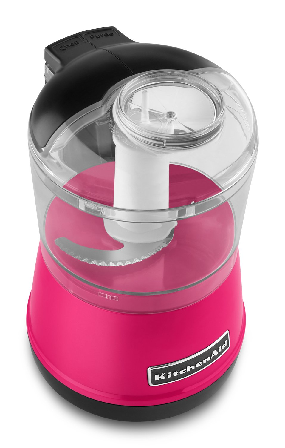 KitchenAid KFC3511TCB 3.5 Cup Food Chopper, Flamingo