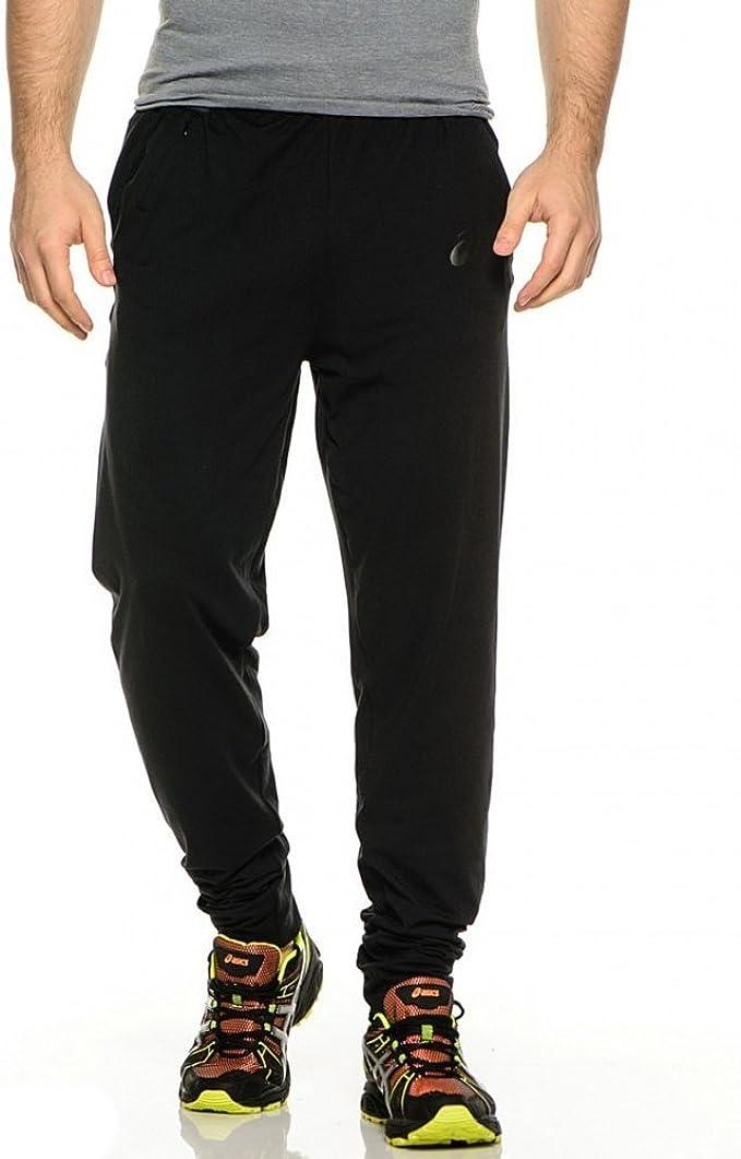 ASICS Pantaloni da Uomo Knit Pant Performance Black, X