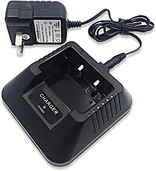HZQDLN CH-5 Battery Charger AC Adapter for BAOFENG UV-5R Walkie Talkie Radios