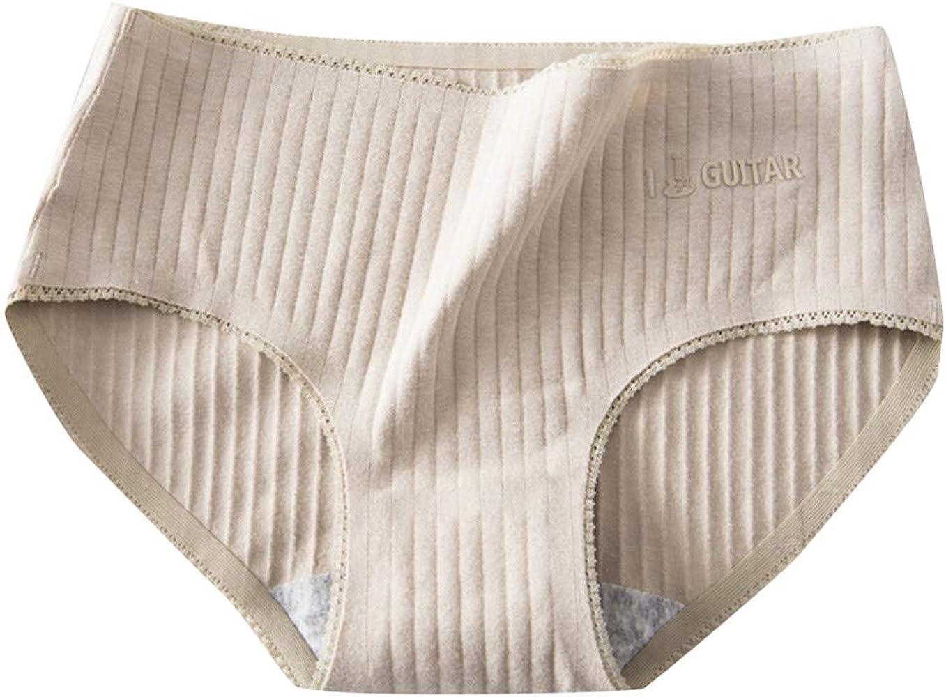 Sloater Pantalones Interiores Mujer, 100% algodón, con Letras de ...