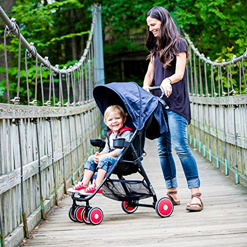 Zoe Xl1 Best Xtra Lightweight Stroller Black Wheels