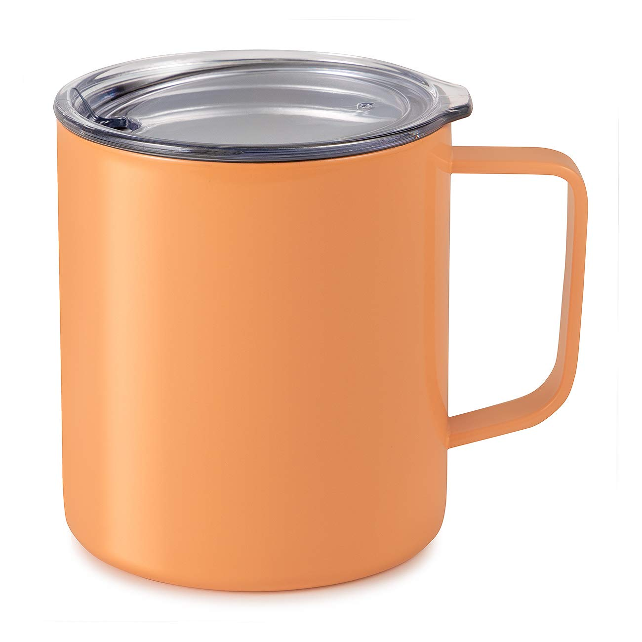 Maars Drinkware 79708-1PK Townie Stainless Steel Insulated Coffee Mug Double Wall Vacuum Sealed Tumbler-14 oz, 1 Pack, Peach