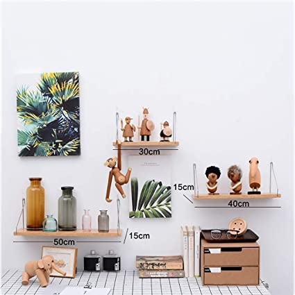 Wall Shelf Bedroom Decoration Wall Hanging Modern Minimalist Word Partition  Wrought Iron Bookshelf Storage Shelf (