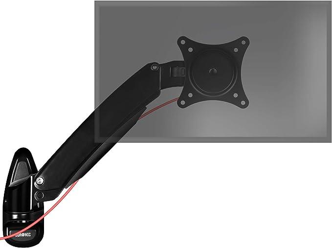 Duronic DM55W1X1 Soporte TV de Pared Brazo para 1 Monitor PC ...