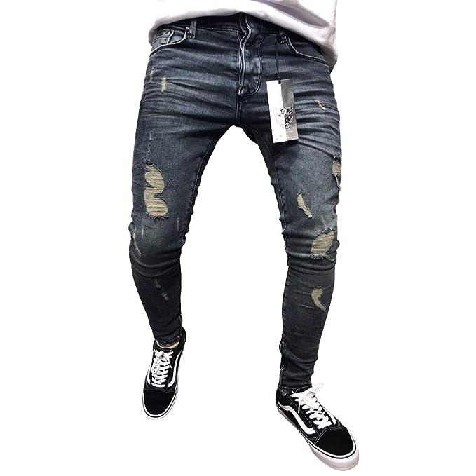 Pantalones De Mezclilla Ajustados De Mezclilla Ajustados ...