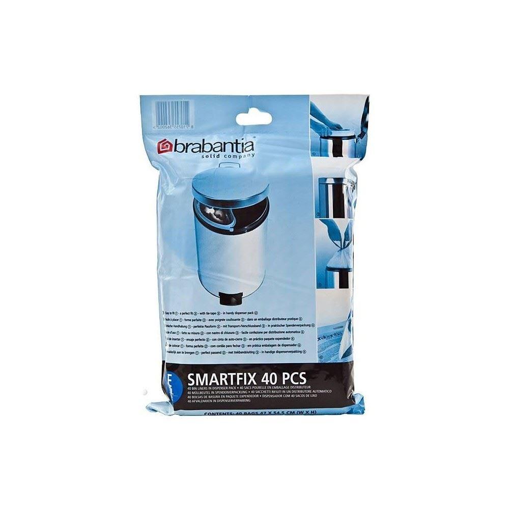 Brabantia Smartfix Bin Liner Dispenser Pack Size E 20L (40 ...