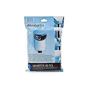 Brabantia Smartfix Bin Liner Dispenser Pack Size E 20L (40) - Pack of 6