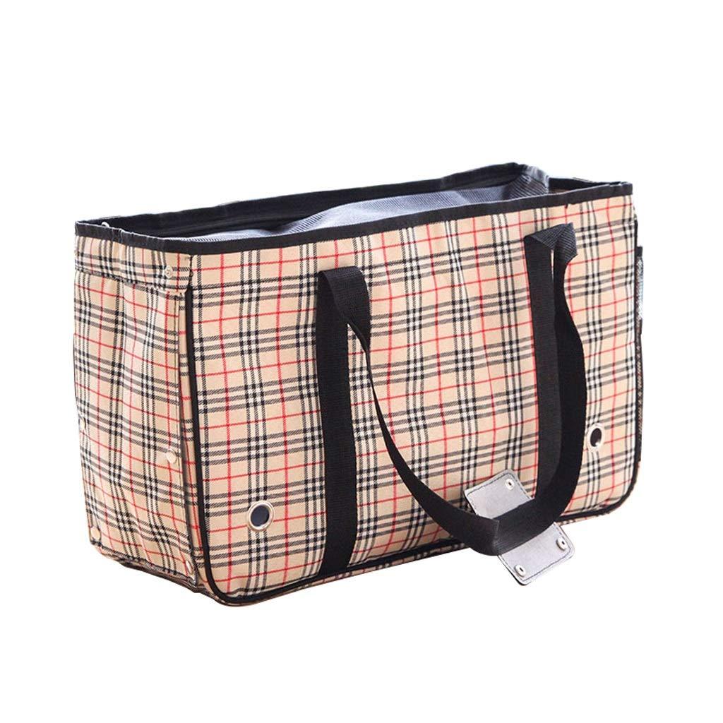 Pet Supplies Travel Bag Portable Pet Out Backpack Large Space One Shoulder Breathable Cat Cage Dog Messenger Bag Backpack