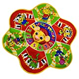 Flower Shape Music Mat Toy Gift Kids Baby Children Educational Animal Sounds Touch Toy