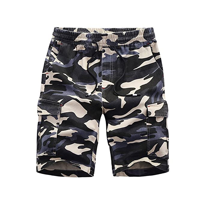 dffe7a91b1 Bermudas Shorts Estampado Camuflaje para Hombre
