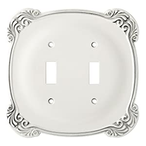 Franklin Brass 144386 Arboresque Double Toggle Switch Wall Plate / Switch Plate / Cover