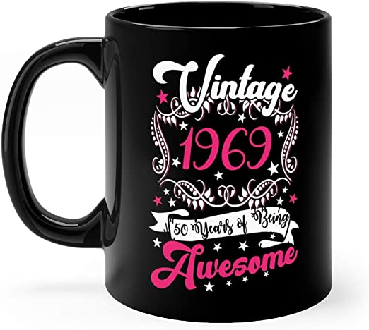 I/'m not Fifty funny birthday coaster 50th Birthday//mug//her//gift//women//50th gift