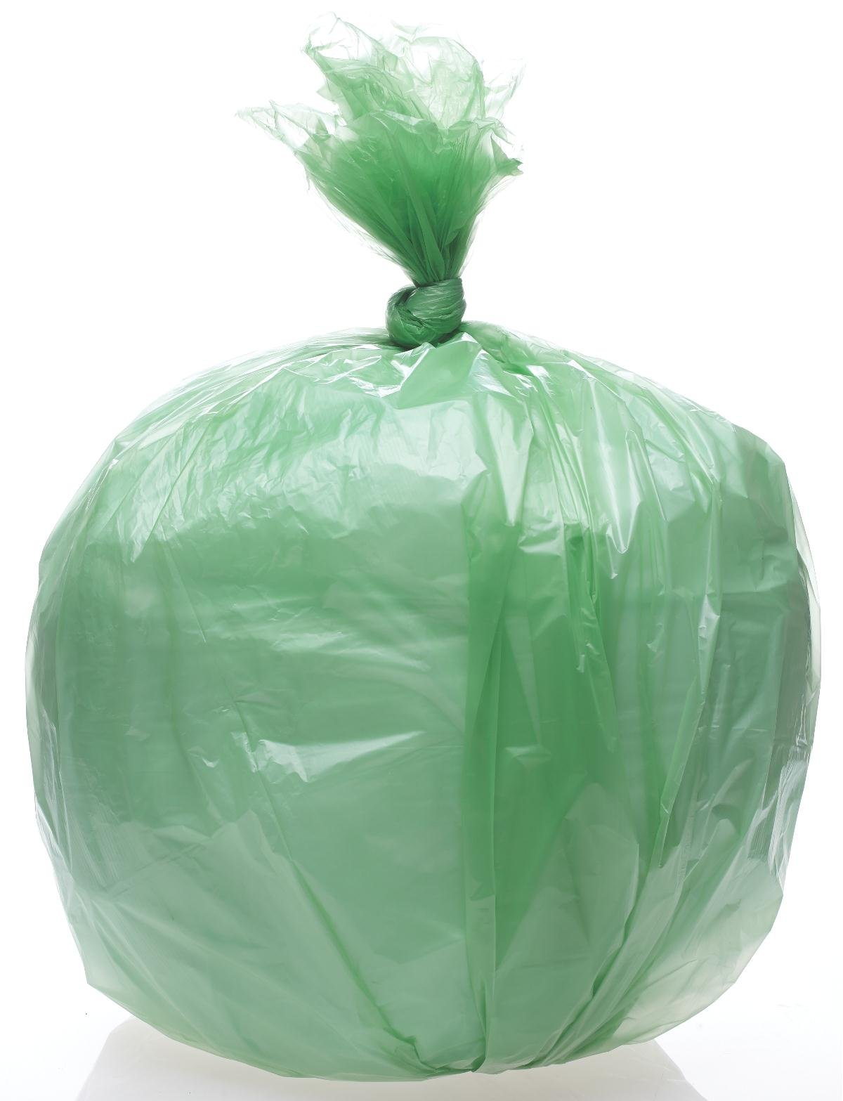 Medline NONDA404816BF Green Degradable Liners, 40'' x 48'', 16 mil (Pack of 250)