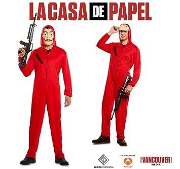 Generique Haus Des Geldes Bankräuber Kostüm La Casa De Papel Rot S