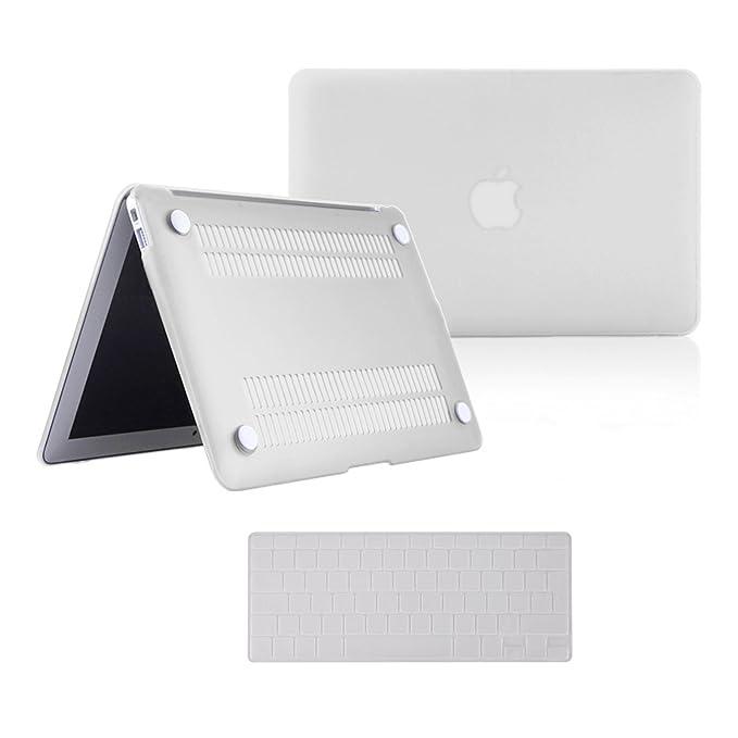 CLE DE TOUS - Universal Funda Protector Carcasa Dura Case Plástico + Protector Silicona Skins para Teclado de Notebook + Protector de Pantalla para ...