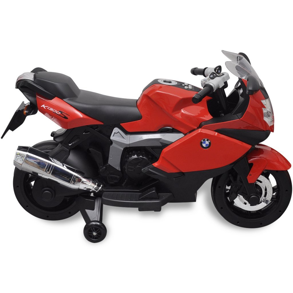 Batteriebetriebene Fahrzeuge vidaXL Kindermotorrad Rot Elektromotorrad Elektroauto Kinderfahrzeug Motorrad