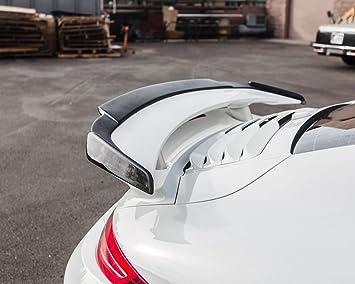 Agencia De ap-991tt-610 de fibra de carbono (Aero forma ala labio Alerón Porsche 991 Turbo | Turbo S), 1 unidades: Amazon.es: Coche y moto