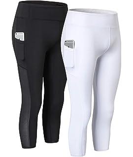 ODODOS High Waist Out Pocket Yoga Pants Tummy Control