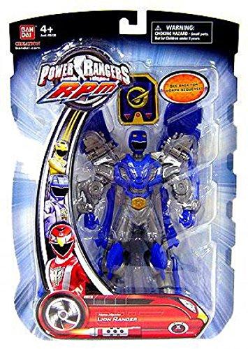 Power Rangers RPM 6.5 Inch Action Figure Moto-Morph Figure Lion Ranger -