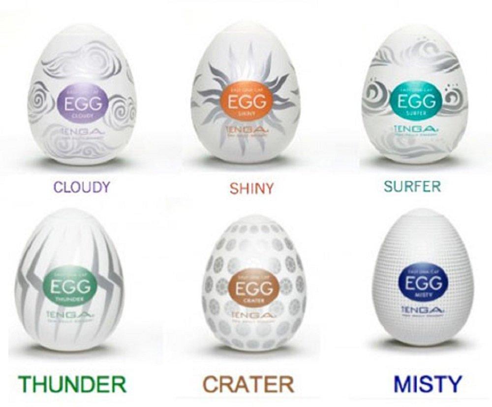Tenga Egg Crater Easy Onacap Diseado Con La Apariencia Wavy Huevo Masturbador Pack 6 Modelos Hard Boiled Amazones Salud Y Cuidado Personal