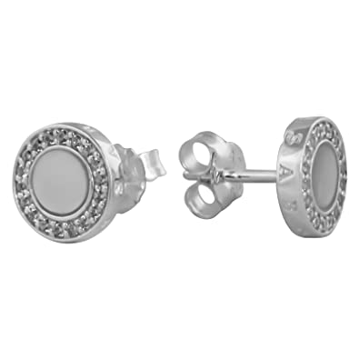 4bfe705c5 Thomas Sabo Glam & Soul Earring with Mother of Pearl and Cubic Zirconia  H1861 030 14: Amazon.co.uk: Jewellery