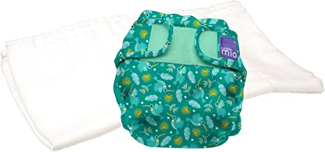 9Kgs Raccoon Retreat Size 1 Bambino Mio Miosoft Two-Piece Nappy Trial Pack