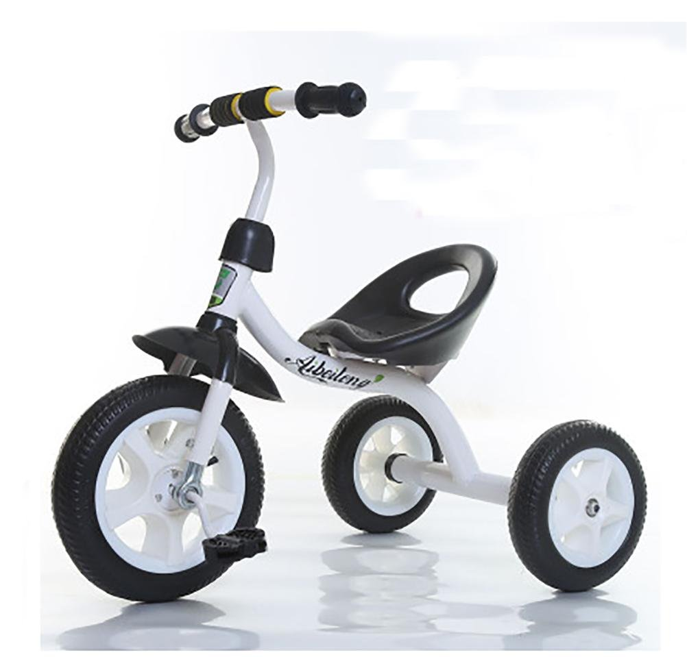 MASLEID Children Tricycle Bicycle Bicycle Toys Baby Cycle 1-3-4 years old , black 2