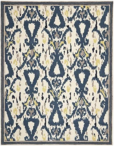 Safavieh Martha Stewart Collection MSR4553A Handmade Premium Wool Mariner Area Rug 9' x 12'