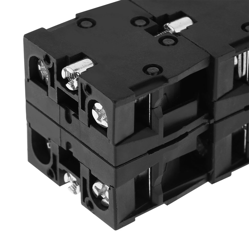 Durable Joy Stick Controller Spring Return Schalter 4 Positionen Control Replacement Industrial Switches Schwarz 1pc Joystick Schalter