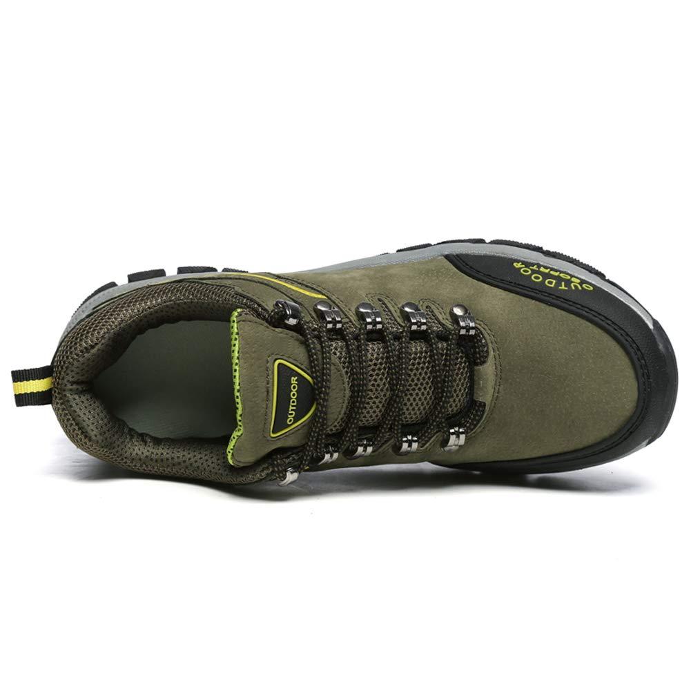 a Prueba de Viento sin Costuras Zapatos de Senderismo para Hombres Botas de Trekking escaladas al Aire Libre Ligeras Zapatillas de Senderismo Transpirables