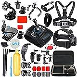 SmilePowo Sports Action Camera Accessory Kit for GoPro Hero6,5 Black, Hero 5,4,3,2,1,Session,GoPro Fusion,DBPOWER,AKASO,APEMAN,SJ CAM,XIAO YI ,2,Sony ,Sports Camera