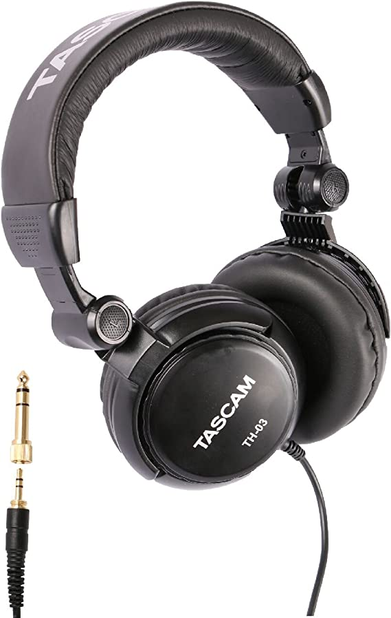 Tascam TH-03 Studio Headphones – Closed Back