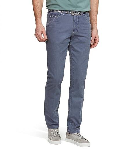 Jeans Des Hommes Simples Jambe Droite Pantalon Bleu Meyer Bleu FzfA9N