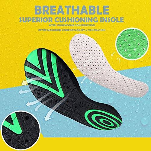 Sikelo Leggero Da Uomo E Da Donna Quick-dry Sport Water Shoes Foglia Blu
