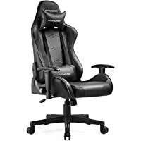 GTRACING Gaming Chair Racing Office Computer Ergonomic Video Game Chair Backrest and Seat Height Adjustable Swivel…