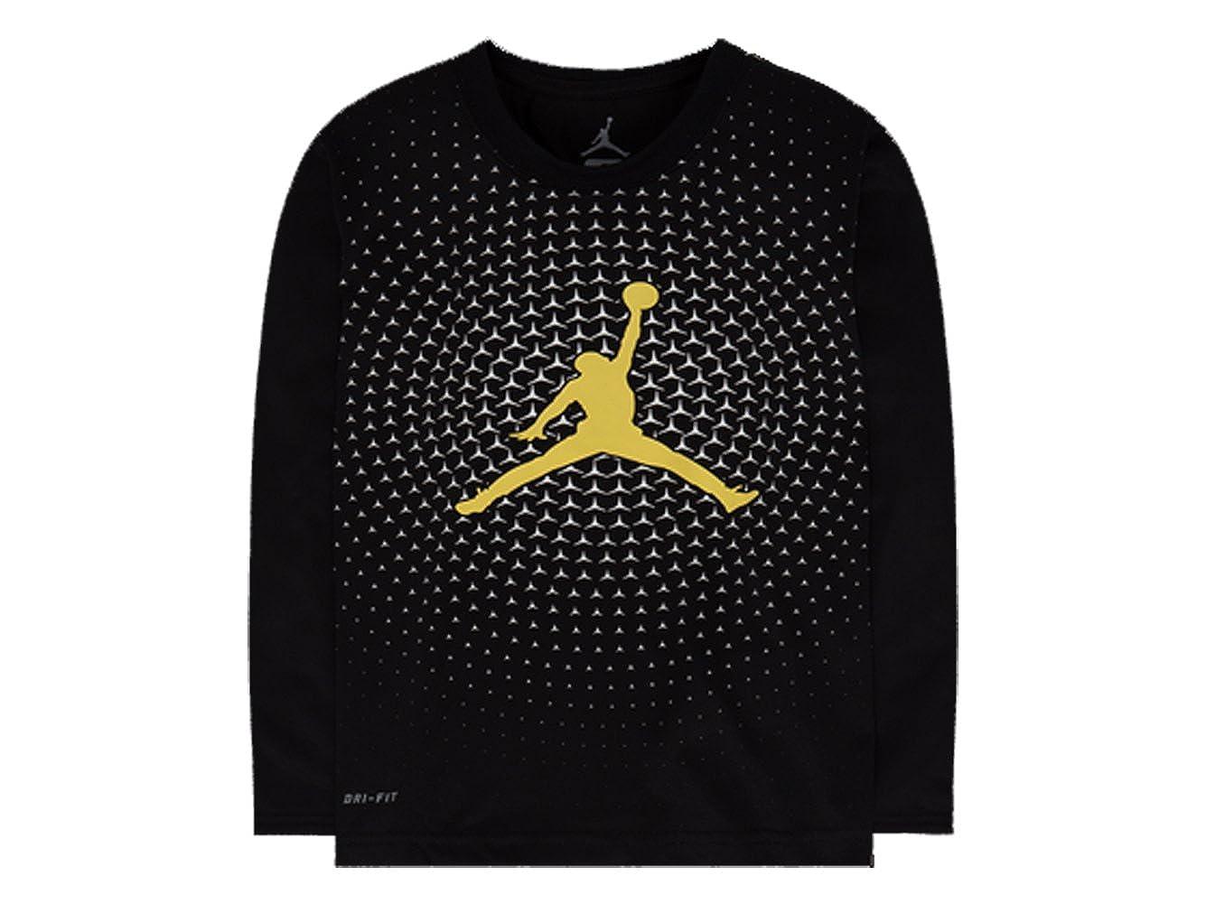 Nike Air Jordan DRI FIT Jersey Legend Long Sleeve T-Shirt