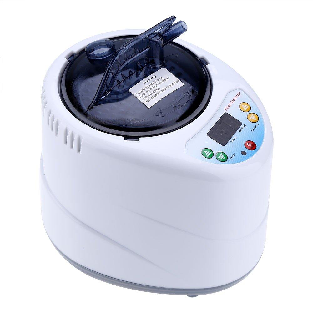 2L Fumigation Maschine Home Dampfer Dampferzeuger Sauna Maschine fü r Sauna Spa Zelt Kö rpertherapie(Weiß ) Eboxer