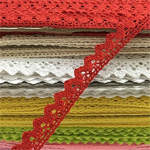 Red Lace Trim - 4