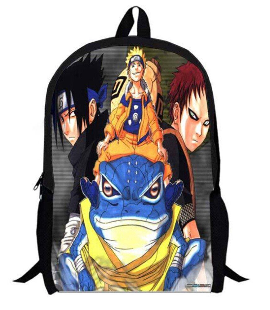 Siawasey NarutoアニメUzumaki Naruto Cartoonバックパックショルダースクールバッグ( # 18 ) B00Y30PNKK