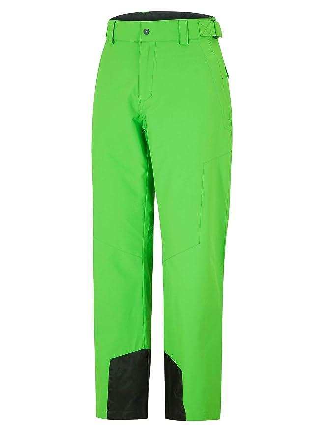 Ropa de esquí neón pantalón  verde neón