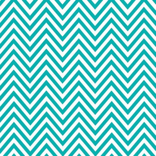 Con-Tact Brand Creative Covering Self-Adhesive Shelf Liner, Chevron, Aqua,  18x 9