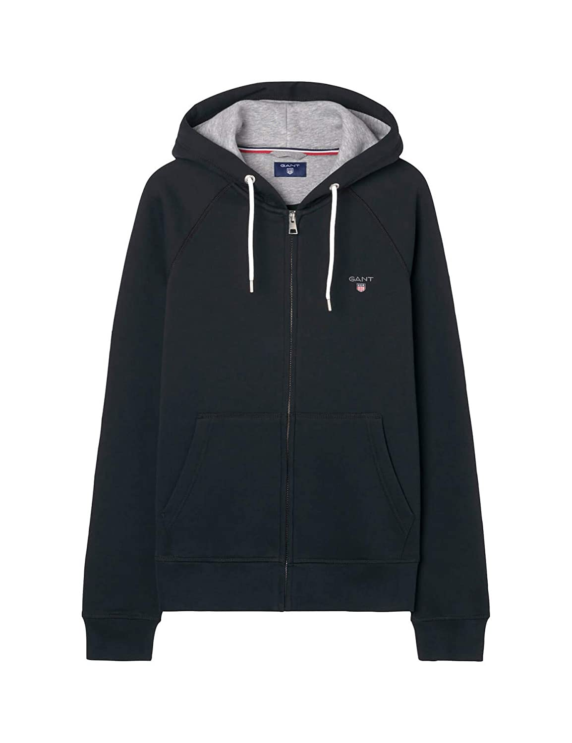 Original Hoodie Full Sweat À Zip Capuche Gant Shirt Homme 0m8wvNnO