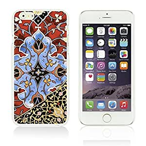 OnlineBestDigitalTM - Flower Pattern Hardback Case for Apple iPhone 6 Plus (5.5 inch) Smartphone - Beautiful Persian Pattern