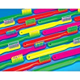 Practicon 512078 Neon Brushes Laser Card (50 Cards Per Pack, 200 Total)