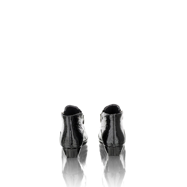 Joker Leather Schwarz 2014001620, Damen Stiefel & Stiefeletten Schwarz Schwarz Leather 17482d