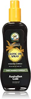 product image for Australian Gold Dark Tanning Exotic Oil Spray, 8 Ounce   Carrot Extract Formula